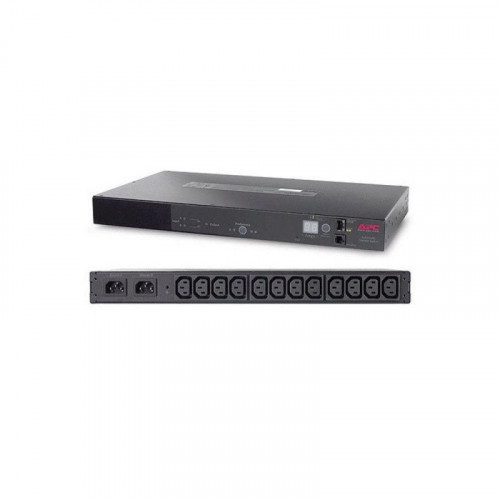 UPS RACK ATS, 10A/230V, 12A/208V, C14 IN, (12) C13 OUT