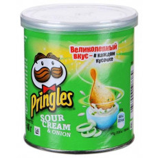 Чипсы Pringles Sour Cream and Onion Small 40 г