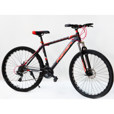 Velosiped Aster 29 24S  AS-700 Black-Red