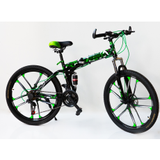 Velosiped Aster 26 LRHA Land Rover M Black-Green