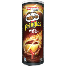 Çips Pringles Hot and Spicy 165 q