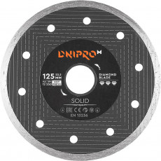 Almaz disk Dnipro-M Solid 125 mm 22.2 mm