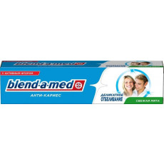 Diş məcunu Blend-A-Med Anti-karies Zərif ağartma 100 ml