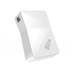 Флеш-память Silicon Power Touch T08 8 GB USB 2.0 White