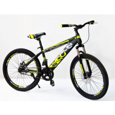 Велосипед Aster 24 ZSS SpaceBaby Yellow