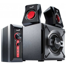 Колонки Genius SW-G2.1 1250 Wood speakers Black (31730980100-N)