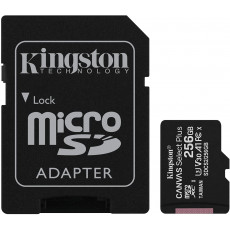 Yaddaş kartı Kingston 256GB micSDXC Canvas Select Plus 100R A1 C10 Card