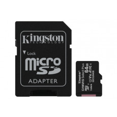 Yaddaş kartı Kingston 64GB microSDXC Canvas Select Plus 100R A1 C10