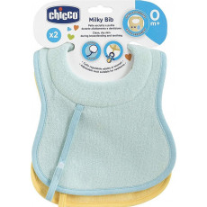 Слюнявчик Chicco BIB 0M+ 2PCS BOY