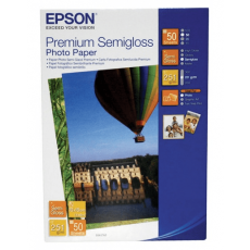 Фотобумага Epson Premium Semigloss Photo Paper 10x15 см 50 листов
