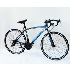 Velosiped Aster 26 700C-TKF Grey-Blue