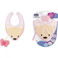 Önlük Chicco FRESH BIB TEETHER GIRL