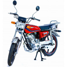 Motosikl Kuba KM125-6 PLUS red