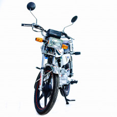 Motosikl Kuba KM125-6 PLUS white