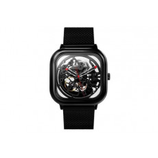 Saat CIGA Design Full hollow Mechanical watch (Deep black)